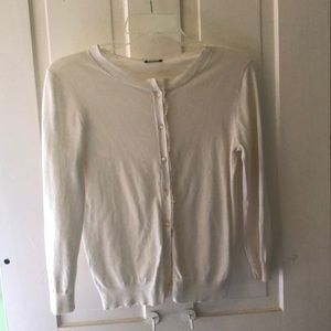 Cream JCrew sweater